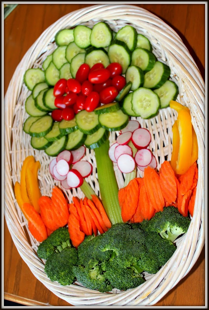 Fresh Veggie Platter for Spring