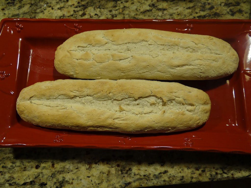 Easy French Bread Baguettes