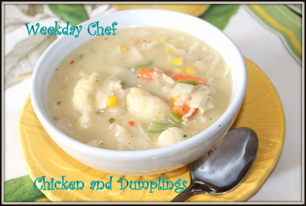 Chicken and Dumplings with Jiffy Biscuit Mix